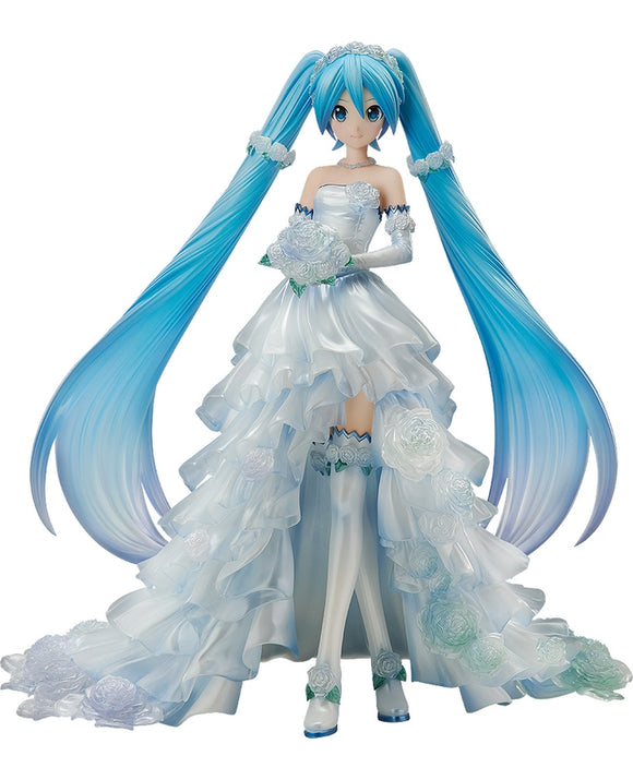 FREEing Vocaloid Hatsune Miku Wedding Dress Ver. 1/7 PVC figure