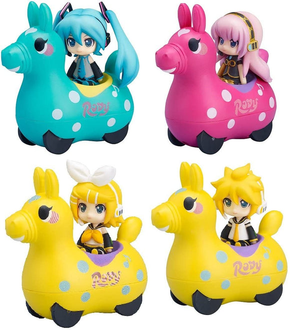 Freeing Nendoroid Plus Vocaloid x Cute Rody character figure with Pull-back Cars