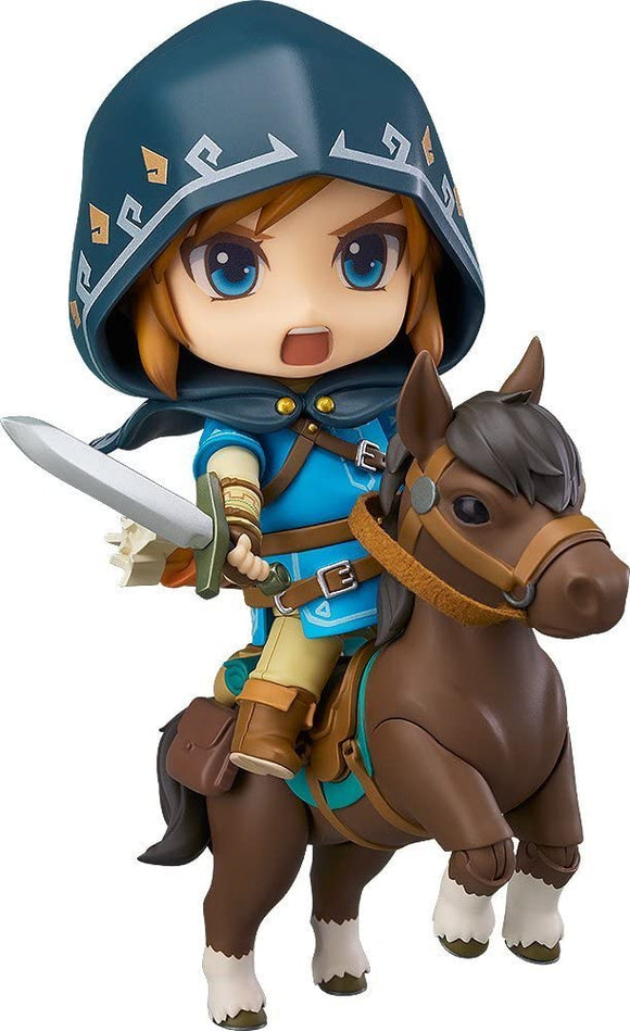 Good Smile Nendoroid 733 DX The Legend of Zelda Link Breath of the Wild Ver. DX