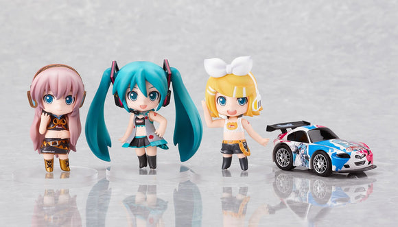 Good Smile Racing GSR Nendoroid Petit Vocaloid Miku Hatsune Racing Miku RQ White