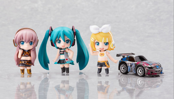 Good Smile Racing GSR Nendoroid Petit Vocaloid Miku Hatsune Racing Miku RQ Black