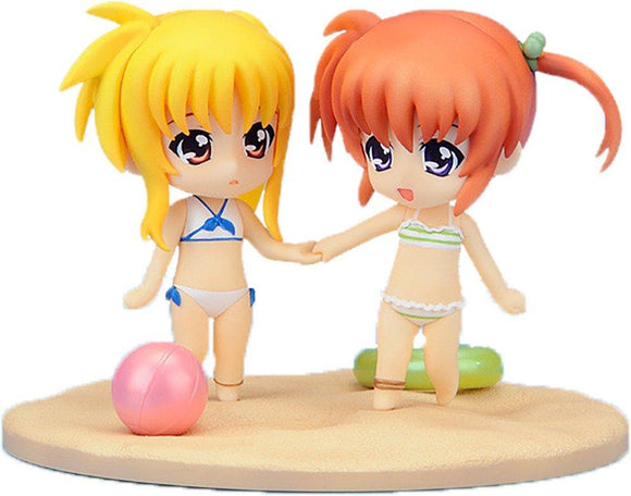 Good Smile Nendoroid Petit Magical Girl Lyrical Nanoha Fate Summer Memories Set