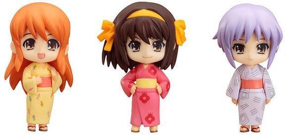 Good Smile Nendoroid Petit The Melancholy of Haruhi Suzumiya Summer Festival Set