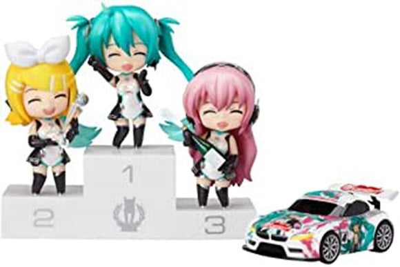 Good Smile Racing GSR Nendoroid Petit Vocaloid Miku Hatsune Racing Miku 2011 Ver