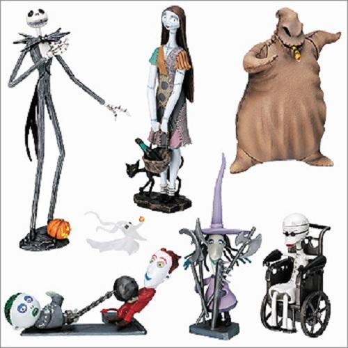 Yujin Tim Burton's Nightmare Before Christmas Large figure collection (set of 6)
