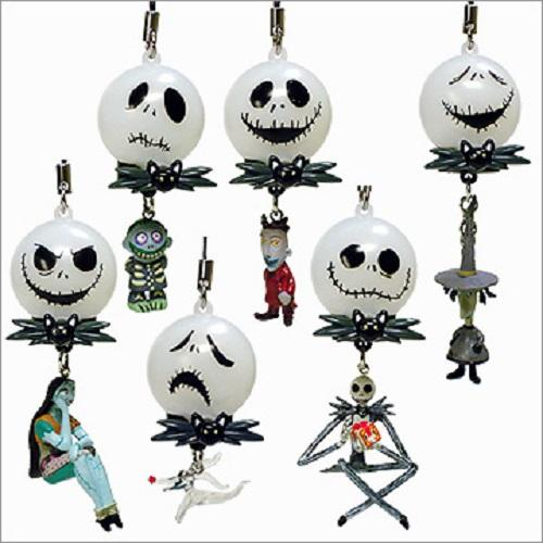 Yujin Tim Burton's Nightmare Before Christmas Flash Mascot Special (set of 6)