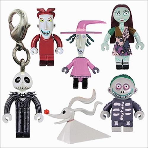 Yujin Tim Burton's Nightmare Before Christmas mini BOX figure Mascot (set of 6)