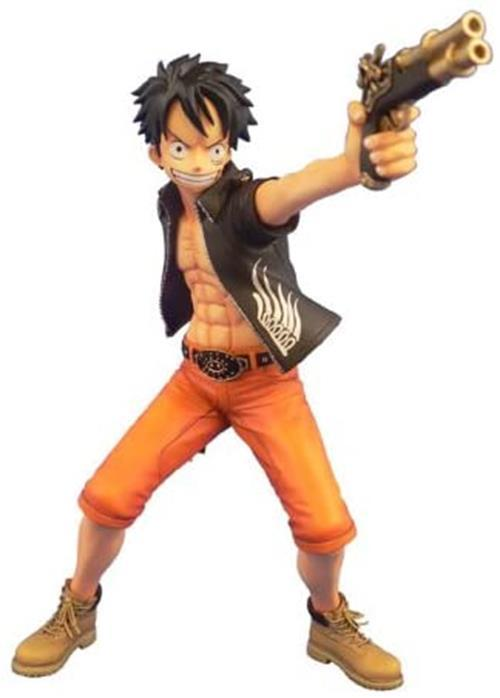 Plex DPCF Door Painting Collection Figure One Piece Monkey D Luffy 1/7 PVC figur