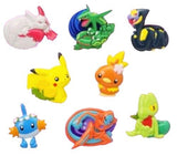 Bandai Pokemon AG Refrigerator Magnet gashapon figure (set of 8) - DREAM Playhouse