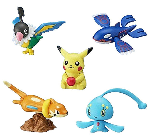 Bandai Pocket Monster Pokemon Advance Gimmick action figure (set of 5)
