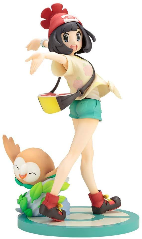 Kotobukiya ArtFX J Pokemon Selene (Mizuki) and Rowlet (Mokuroh) 1/8 PVC figure - DREAM Playhouse
