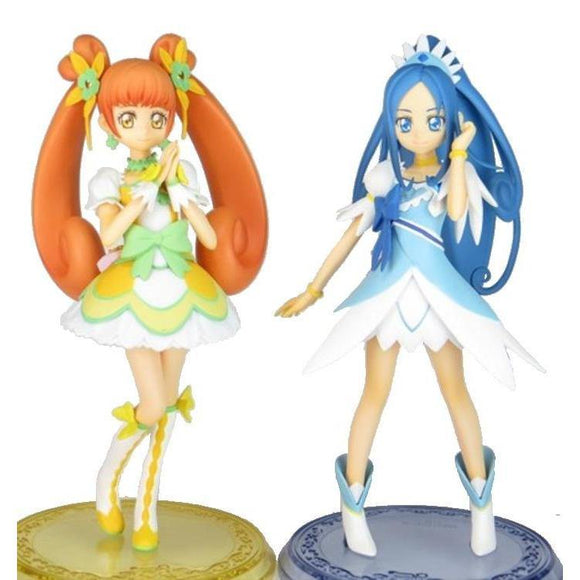 Banpresto DXF Dokidoki Precure Girls Pretty Cure PVC Figure Diamond & Rosetta