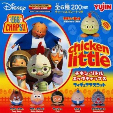 Takara TOMY Yujin Chicken little EGG CHAPS figure mascot (set of 6)