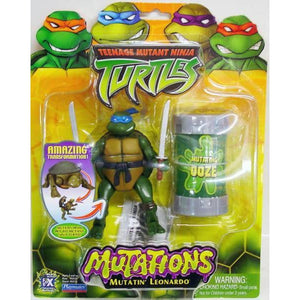 Playmates Tmnt 2003 Teenage Mutant Ninja Turtles Mutatin Leo Leonardo Action Figure - Action Figure