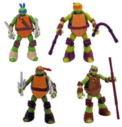 Takara TOMY Teenager Mutant Ninja Turtles TMNT Trading figure