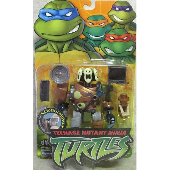 Playmates Tmnt 2003 Teenage Mutant Ninja Turtles Nanotech Monster Action Figure - Action Figure