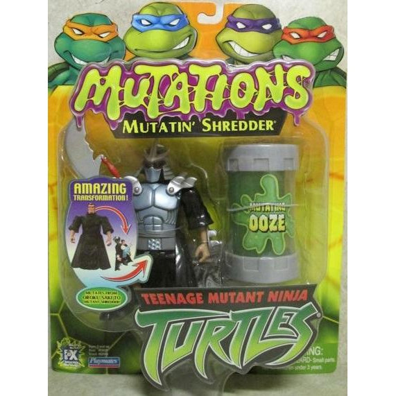 Playmates Tmnt 2003 Teenage Mutant Ninja Turtles Mutatin Shredder Action Figure - Action Figure