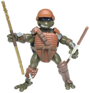 Playmates TMNT 2003 Teenage Mutant Ninja Turtles Fightin' Gear don Donatello NIP