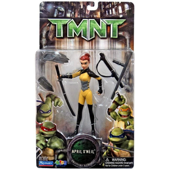 Playmates Tmnt Movie 2007 Teenage Mutant Ninja Turtles April Oneil Action Figure - Action