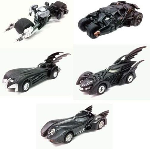Takara TOMY Tomica limited DC comics Batmobile Collection diecast car (set of 5)