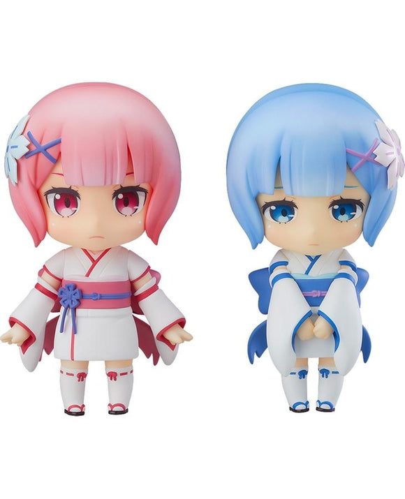 Good Smile Nendoroid 942 Re:ZERO Ram & Rem: Childhood Ver. WF 2018 Summer (Pre-order)-DREAM Playhouse