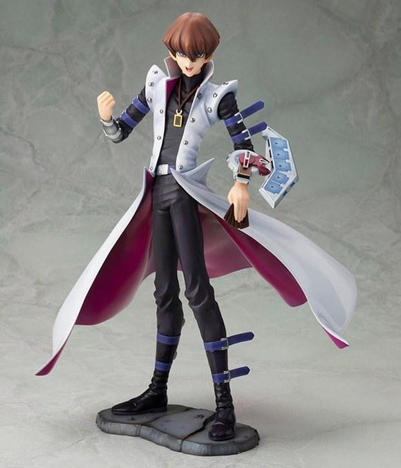 Kotobukiya ArtFX J Yu-Gi-Oh! Duel Monster Kaiba Seto Duel With Destiny 1/7 PVC figure-DREAM Playhouse