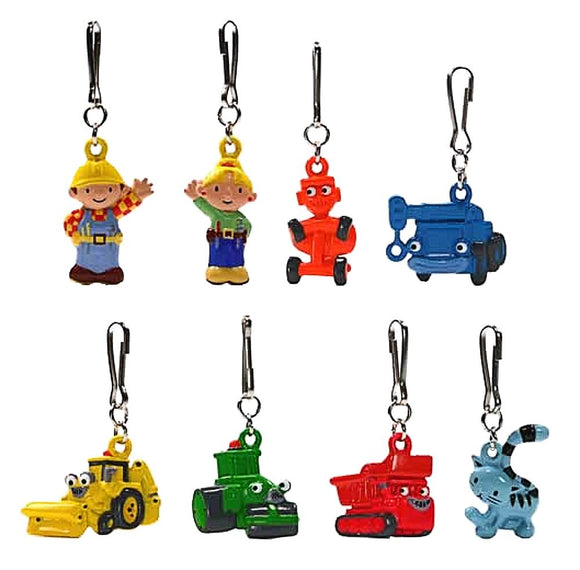 Yujin HIT Bob the builder Boobs fastener mascot working with Bob (set of 8)