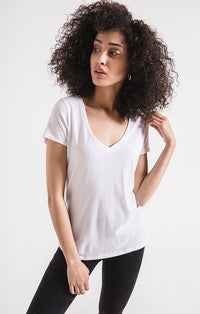 THE COTTON CORE V TEE