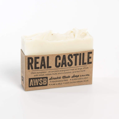 Unscented Castile Bar Soap - Urban Sprouts