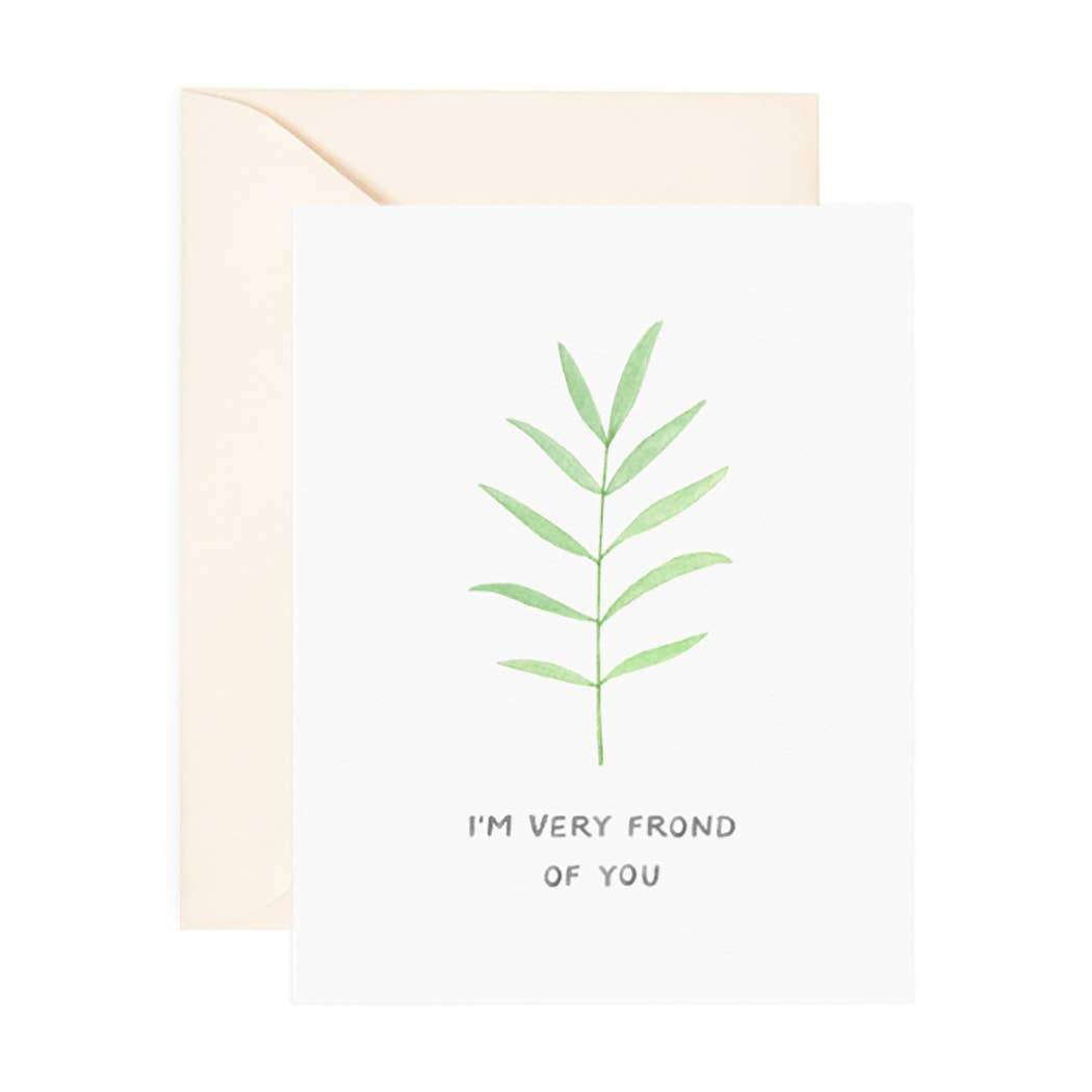 I'm Frond of You Card - Urban Sprouts