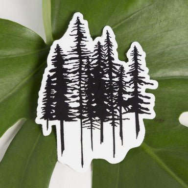 Big Moods Sticker Pine Trees Sticker