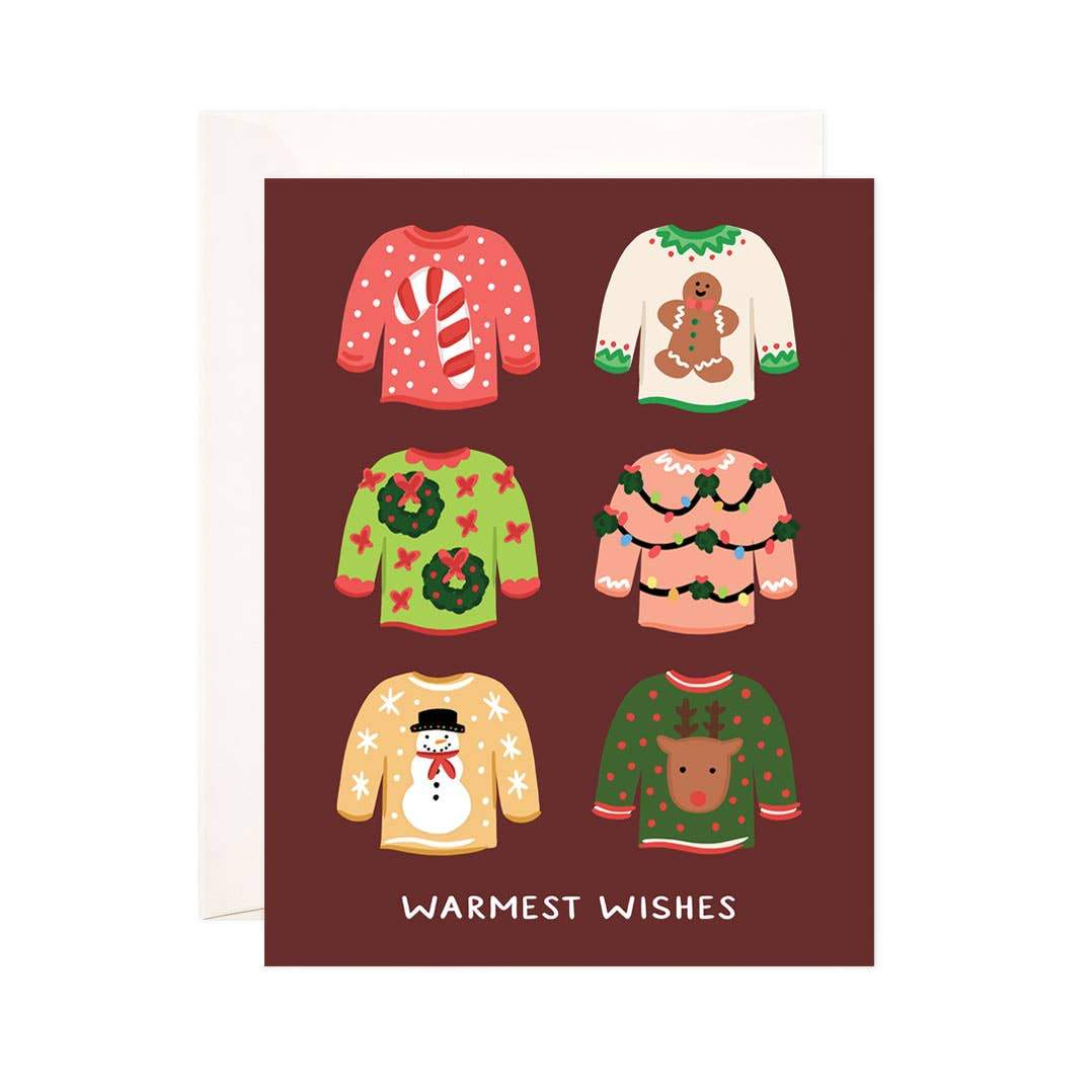 Sweater Weather Card - Urban Sprouts