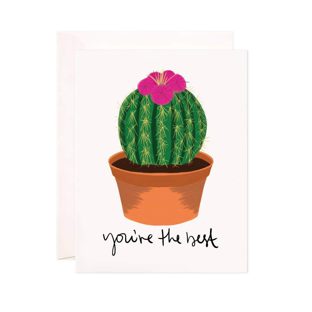 You're the Best Cactus Card - Urban Sprouts