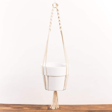 Twist Top Macrame Plant Hanger - Urban Sprouts