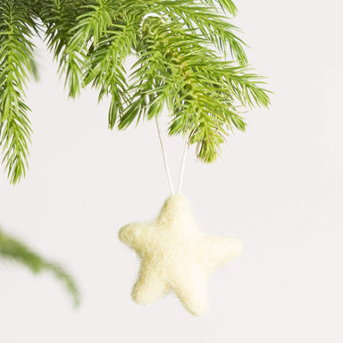Felted Star Ornament - Urban Sprouts
