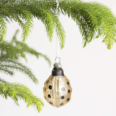 Glass Ladybug Ornament - Urban Sprouts