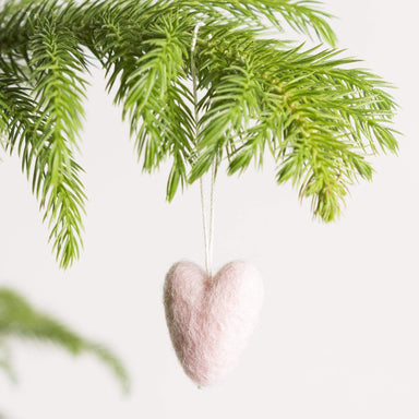 Felted Heart Ornament - Urban Sprouts