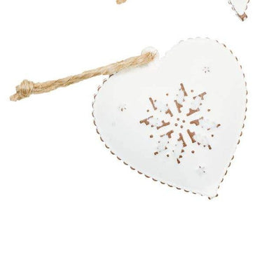 Frosted Heart Ornament - Urban Sprouts