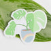 Jess Weymouth Sticker Clear Potted Monstera Sticker
