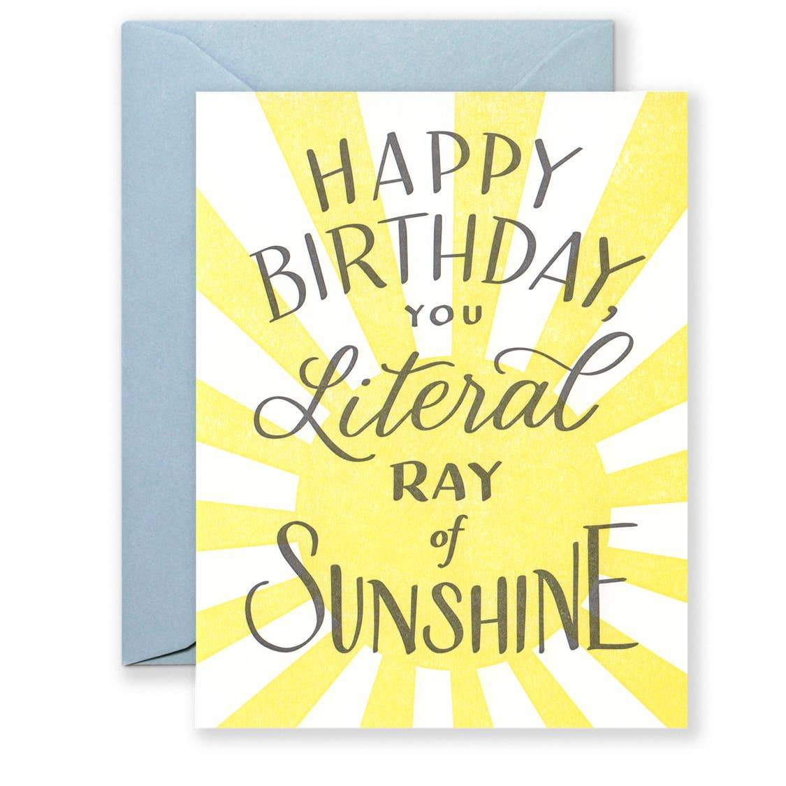 Happy Birthday Sunshine Card - Urban Sprouts