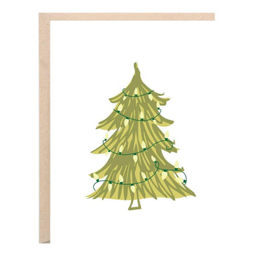Tree with Lights Card - Urban Sprouts