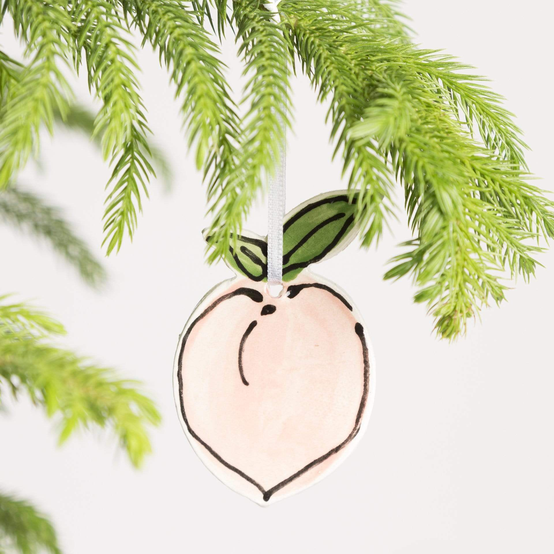 Peach Ornament - Urban Sprouts