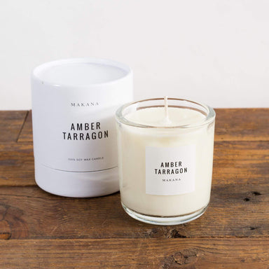 Amber Tarragon Soy Candle - Urban Sprouts
