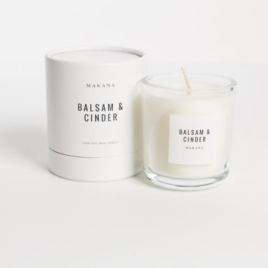 Basalm and Cinder Soy Candle - Urban Sprouts
