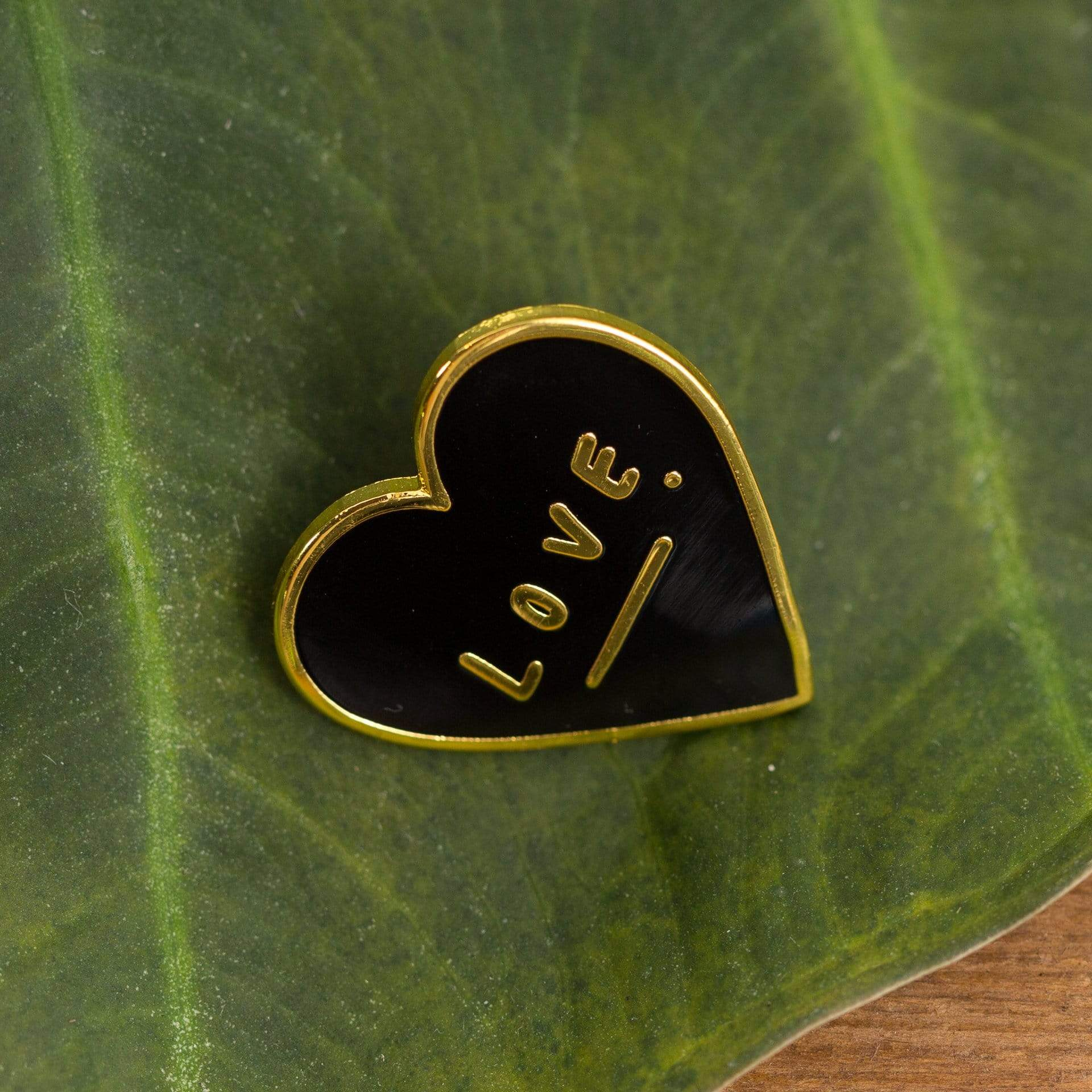 Love Heart Enamel Pin - Urban Sprouts