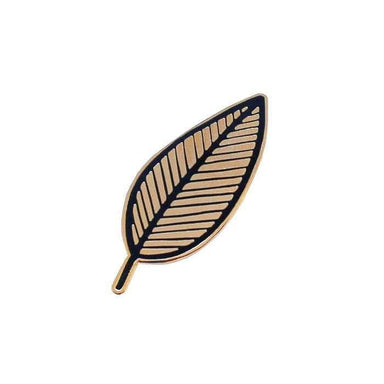 Plant Leaf Enamel Pin - Urban Sprouts