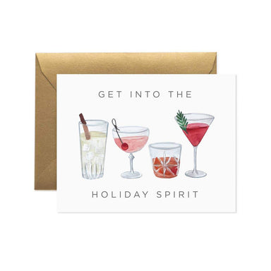 Get Into the Holiday Spirit Card - Urban Sprouts