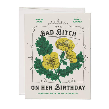 Bad B*tch Birthday Card - Urban Sprouts