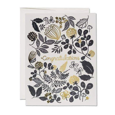 Floral Congratulations Card - Urban Sprouts