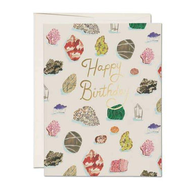 Happy Birthday Gems Card - Urban Sprouts